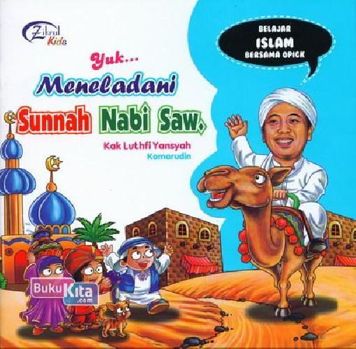 Cover Buku Yuk ... Meneladani Sunnah Nabi Saw