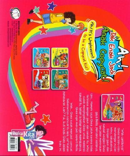Cover Belakang Buku Ah! Tak Enak Jadi Anak Copycat!