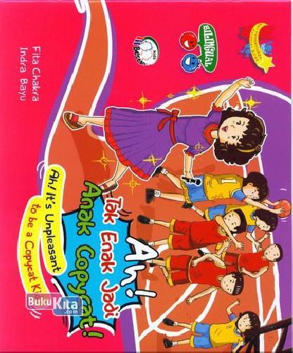 Cover Buku Ah! Tak Enak Jadi Anak Copycat!