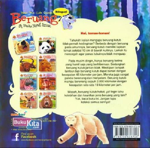 Cover Belakang Buku Beruang Si Buas Yang Imut