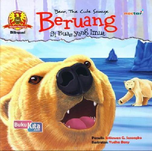 Cover Buku Beruang Si Buas Yang Imut