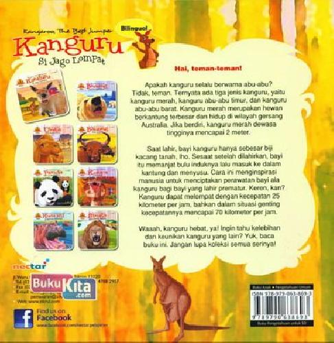 Cover Belakang Buku Kanguru Si Jago Lompat