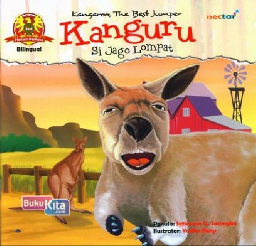 Cover Buku Kanguru Si Jago Lompat