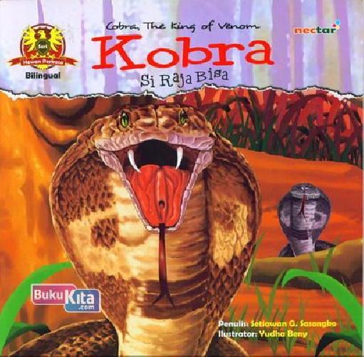Cover Buku Kobra Si Raja Bisa