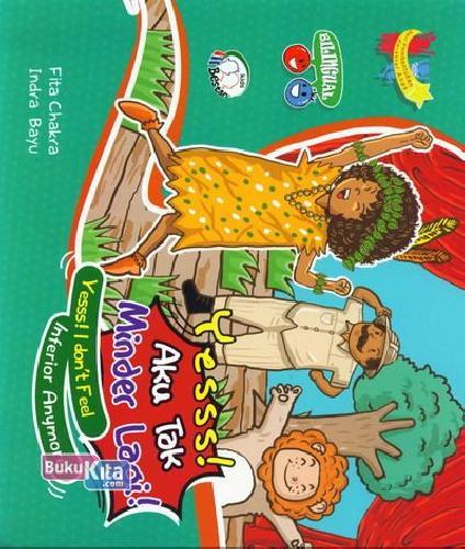Cover Buku Yesss! Aku Tak Minder Lagi!