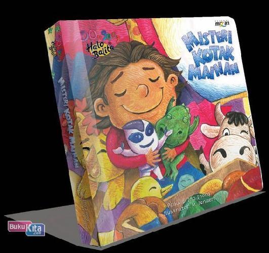 Cover Buku Dongeng Halo Balita : Misteri Kotak Mainan