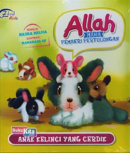Cover Buku Anak Kelinci Yang Cerdik