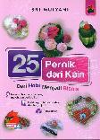 25 Pernak Pernik dari Kain
