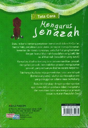 Cover Belakang Buku Tata Cara Mengurus Jenazah