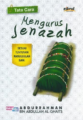 Cover Buku Tata Cara Mengurus Jenazah