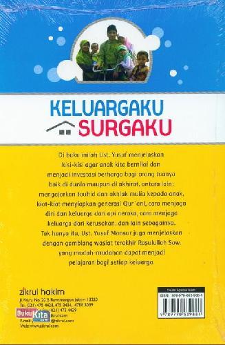 Cover Belakang Buku Keluargaku Surgaku