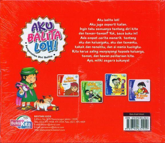 Cover Belakang Buku Aku Balita Loh!