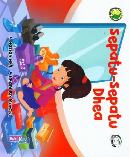 Cover Buku Sepatu-sepatu Dhea:Mari Berhemat Cintai Alam