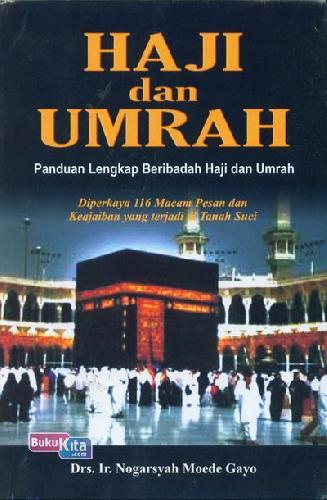 Cover Belakang Buku Haji dan Umrah - Panduan Lengkap Beribadah Haji dan Umrah