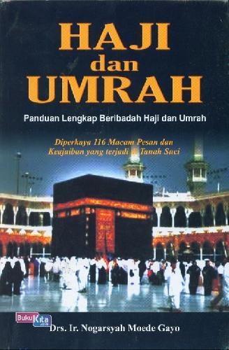 Cover Buku Haji dan Umrah - Panduan Lengkap Beribadah Haji dan Umrah