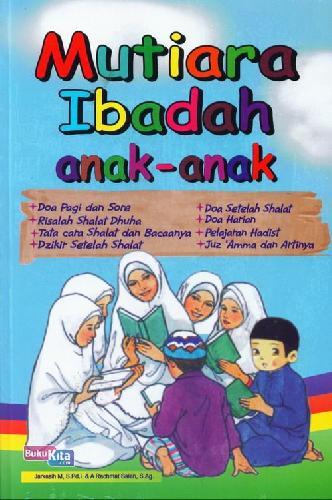 Cover Buku Mutiara Ibadah Anak-Anak