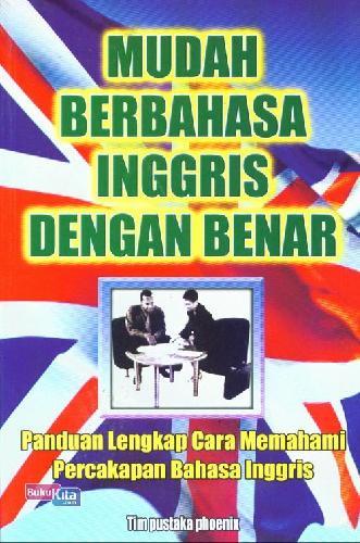 Cover Buku Mudah Berbahasa Inggris Dengan Benar