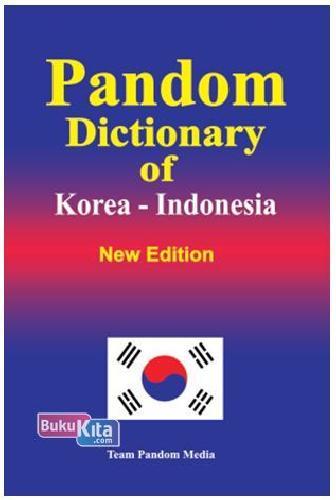 Cover Buku Pandom Dictionary of Korea - Indonesia New Edition