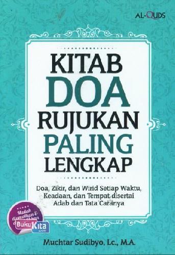 Cover Buku Kitab Doa Rujukan Paling Lengkap