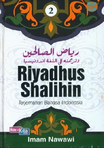 Cover Buku Riyadhus Shalihin Terjemahan Bahasa Indonesia Jilid 2