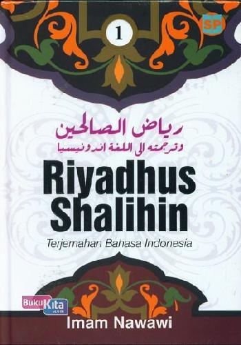 Cover Buku Riyadhus Shalihin Terjemahan Bahasa Indonesia Jilid 1