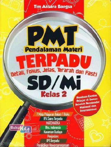 Cover Buku PMT Pendalaman Materi Terpadu SD/Mi Kelas 2