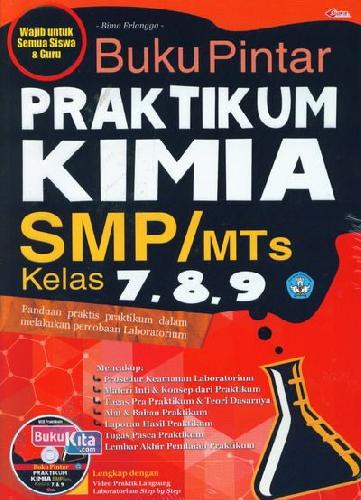 Cover Buku Buku Pintar Praktikum Kimia SMP/MTs Kelas 7,8,9