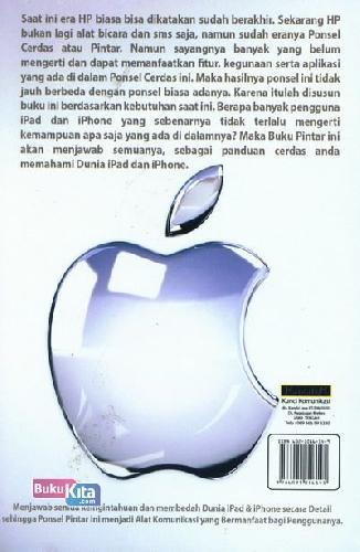 Cover Belakang Buku Buku Pintar iPad & iPhone Untuk Pemula