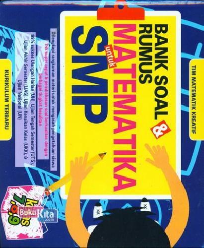 Cover Buku Bank Soal & Rumus Matematika untuk SMP