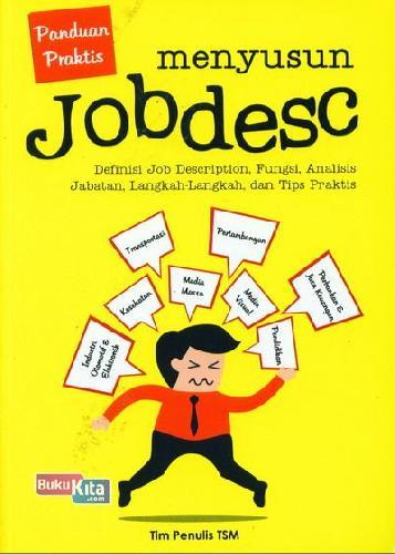Cover Buku Panduan Praktis Menyusun Jobdesc