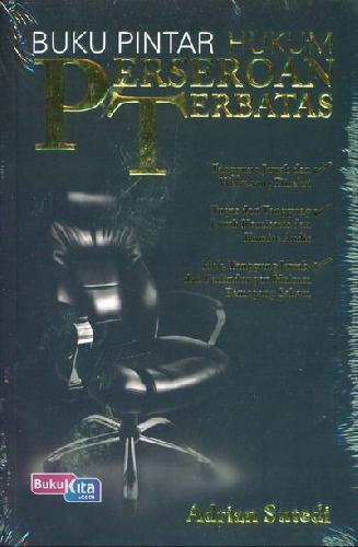 Cover Buku Buku Pintar Hukum Perseroan Terbatas