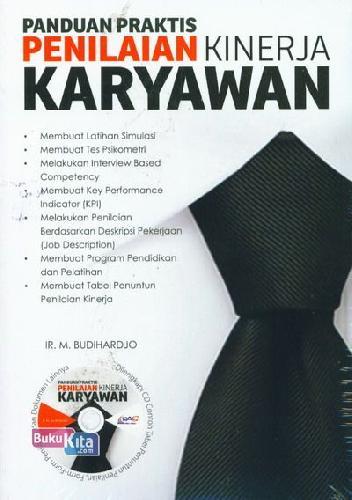 Cover Buku Panduan Praktis Penilaian Kinerja Karyawan