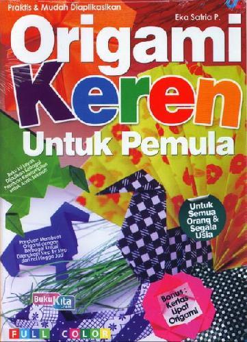 Cover Buku Origami Keren Untuk Pemula