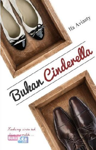 Cover Buku Bukan Cinderella