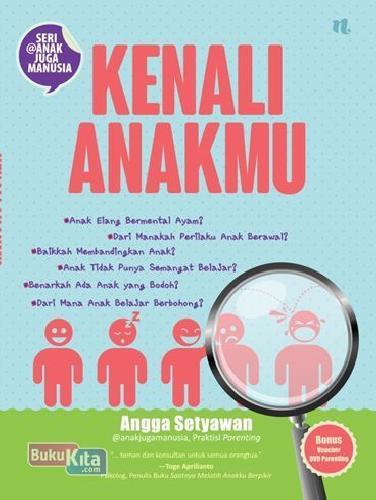 Cover Buku Kenali Anakmu