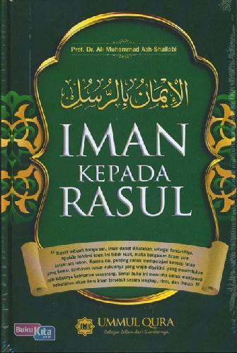 Cover Buku Iman Kepada Rasul