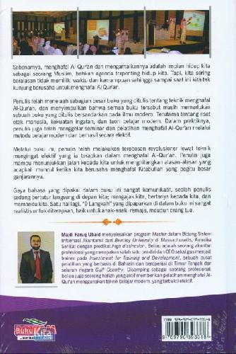 Cover Belakang Buku 9 Langkah Mudah Menghafal Al Quran+Dvd