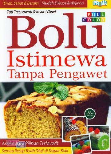 Cover Buku Bolu Istimewa Tanpa Pengawet