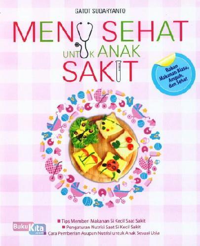 Cover Buku Menu Sehat Untuk Anak Sakit