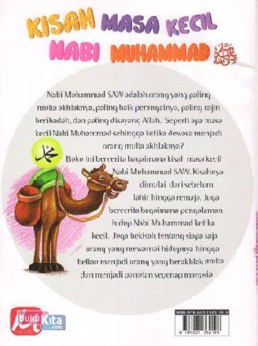 Cover Belakang Buku Kisah Masa Kecil Nabi Muhammad