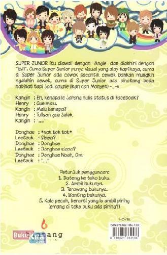 Cover Belakang Buku Suju Salah Gaul