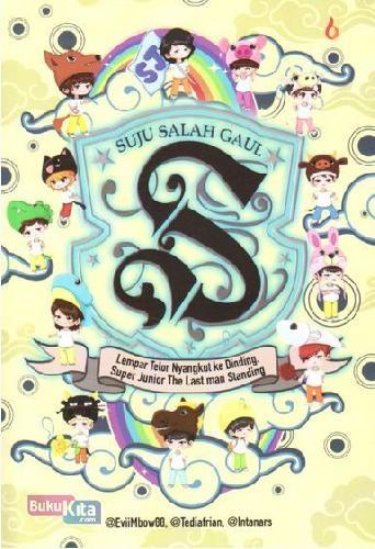 Cover Buku Suju Salah Gaul
