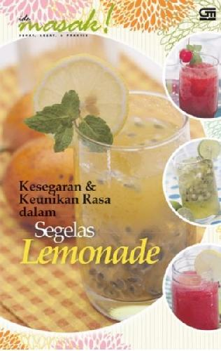 Cover Buku Kesegaran & Keunikan Rasa Dalam Segelas Lemonade
