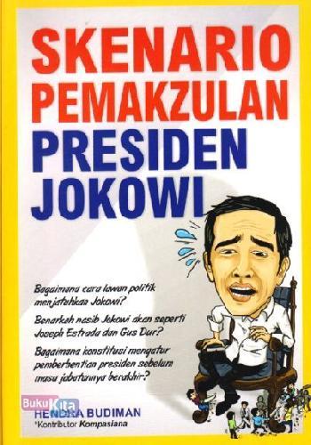 Cover Buku Skenario Pemakzulan Presiden Jokowi