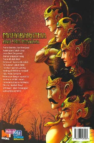 Cover Belakang Buku Mahabaratha 1 : Asal Usul Pandawa
