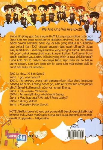 Cover Belakang Buku EXO Salah Gaul 2