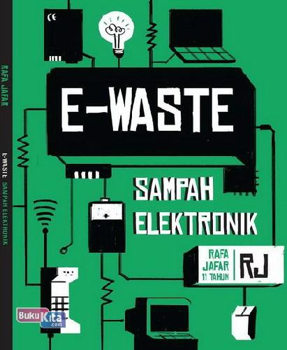 Cover Buku E-Waste : Sampah Elektronik