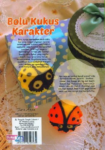 Cover Belakang Buku Bolu Kukus Karakter : Membuat Bolu Kukus Aneka