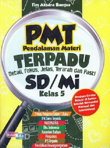 Cover Buku PMT Pendalaman Materi Terpadu SD/Mi Kelas 5