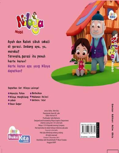 Cover Belakang Buku Mobil Niloya : Seri Niloya
